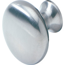 "1-1/4"" Cabinet Knob Satin Chrome, Package of 25"