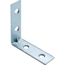 "1-1/2"" Zinc Angle Corner Iron Package Of 10"