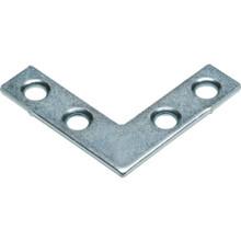 "2"" Zinc Flat Corner Iron Package Of 10"