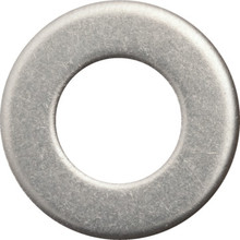 "1/2"" Stainless Steel Flat Washer Package Of 8"