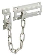 "2-13/16"" Extruded Brass Chrome Chain Door Lock Chrome"