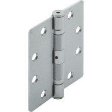 "4-1/2"" Commercial Ball Bearing Door Hinge Satin Chrome, Steel Material, Pkg/3"