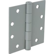 "4-1/2"" Commercial Plain Bearing Door Hinge Prime Coated Package of 3"