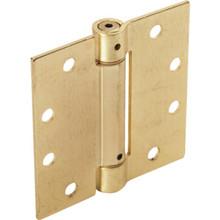 """4-1/2"""" Commercial Spring Door Hinge Brass"""