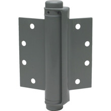 "4-1/2 x 5"" Commercial Spring Door Hinge Prime Coated Gray Package of 2"