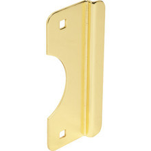 "2-5/8 x 6"" Brass Steel Out-Swinging Door Latch Protector"