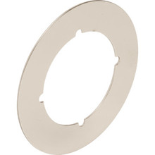 "3-1/2"" Nickel Escutcheon And Cover Plate, Package of 2"