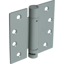 """4"""" Residential Adjustable Spring Door Hinge Satin Nickel"""