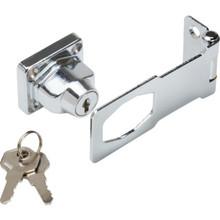 "3"" Steel Key Locking Safety Hasp"
