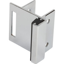 "Partition Door Strike For Slide Latch Fits 1-1/4"" Laminate/Marble 2 Pack"