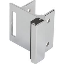 "Partition Door Strike For Slide Latch Fits 1-1/4"" Steel 2 Pack"