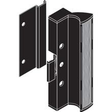 """3"""" Sliding Glass Door Handle Black"""