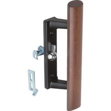 """3-1/2"""" Universal Sliding Glass Door Handle Black"""
