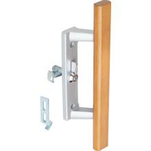 """3-15/16"""" Universal Sliding Glass Door Handle Aluminum"""