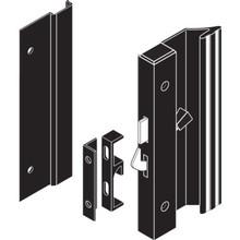 "4-15/16"" Low Profile Surface Sliding Glass Door Handle Black"