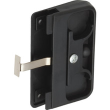 "2-5/8"" Sliding Screen Door Latch and Pull Black"