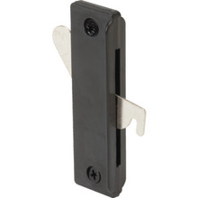 "2-7/8"" Sliding Screen Door Latch and Pull Black"