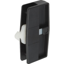 "3"" Sliding Screen Door Latch and Pull Black"