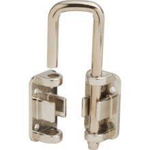 "1-1/8"" Patio Door Security Lock Nickel"