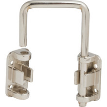 "2-1/8"" Patio Door Security Lock Nickel"