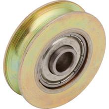 """.5"""" x 1.3"""" x 3.5"""" Steel Sliding Glass Door Wheel Package of 2"""
