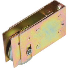 "Sliding Glass Door Roller 1-1/2"" Diameter Steel Ball Bearing Wheel Package of 2"