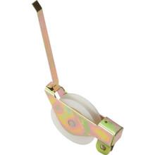 """Sliding Glass Door Roller 1-1/4"""" Diameter Nylon Ball Bearing Wheel Package of 2"""