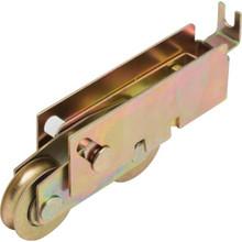 "Sliding Glass Door Roller 1-1/8"" Diameter Tandem Steel Ball Bearing Wheel Packag"
