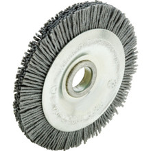 "3"" Diameter Nylon Key Machine Deburring Brush"