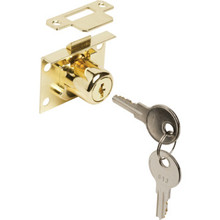 "7/8"" Cabinet and Drawer Lock, 1041T Keyway"