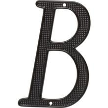 "4"" Black Letter B Package Of 2"