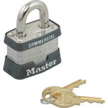 "Master Lock 1-3/4"" #1Keyed Different Steel Laminated Padlock"