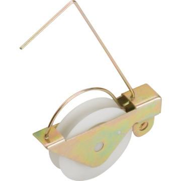 """Screen Door Roller 1-1/4"""" Diameter Nylon Ball Bearing Wheel Package of 2"""