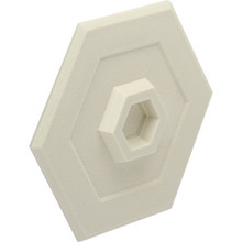 "Wall Protector 5"" Ivory, Package of 5"