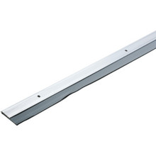 "36"" Aluminum And Vinyl Door Sweep Aluminum"