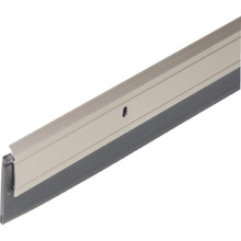 "36"" Aluminum And Vinyl Door Sweep Satin Nickel"