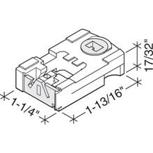 "9/16"" Spiral Balance Pivot Lock Shoe, Package of 2"