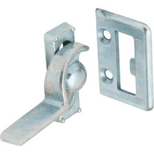 "7/8"" Left Hand Sliding Window Sash Lock Zinc, Package of 2"