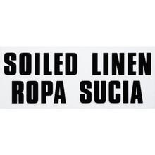 """Rubbermaid 4 x 10"""" """"Soiled Linen"""" Identification Label"""