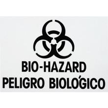 "Rubbermaid 7 x 10"" ""Biohazard"" Identification Label"