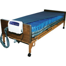 "Drive Med-Aire Alternating Pressure Low Air Loss Mattress System 80""Lx36""Wx8""D"