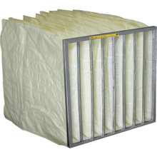 "24x24x21"" High Efficiency Bag Filter Merv 11 Box Of 4"