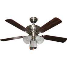 "44"" Balmoral Brushed Nickel Ceiling Fan"