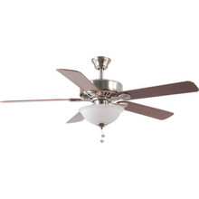 "52"" Boudreaux Brushed Nickel Ceiling Fan"