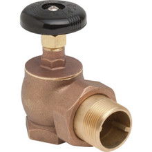 "1-1/4"" FIP x Male Angle Steam Radiator Valve"