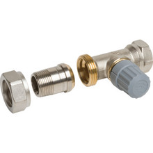"Danfoss 3/4"" NPT Straight Radiator Valve"