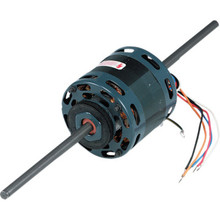 "Fasco D338 4.4"" 1/6-1/15 Horse Power Double Shaft Motor"