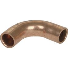 "3/8"" OD 90 Degree ACR Copper Elbow CxC Long Radius"