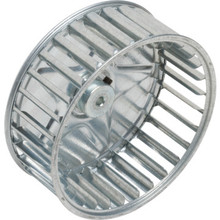 "5-1/4"" CCW Rotation Steel Exhaust Fan Blower Wheel"