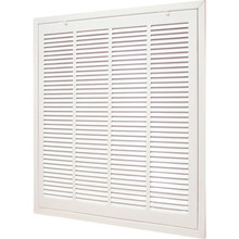 "30x6"" White Return Air Grille"